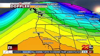A warming trend this weekend brings dry conditions through Christmas Day - Video