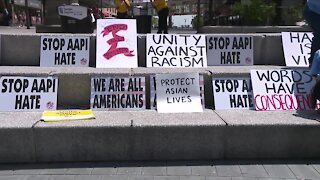'Unity Against Hate' event at Public Square protests hate, violence against Asian Americans