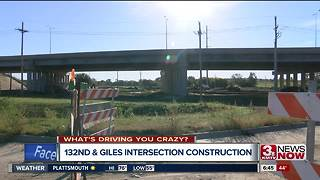 What's Driving You Crazy: 132nd and Intersection construction - Video
