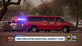 Man dies after being shot several times in west Phoenix - Video