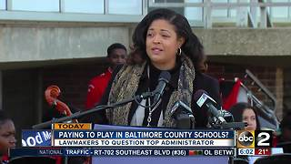 Paying to play in Baltimore County Schools? - Video