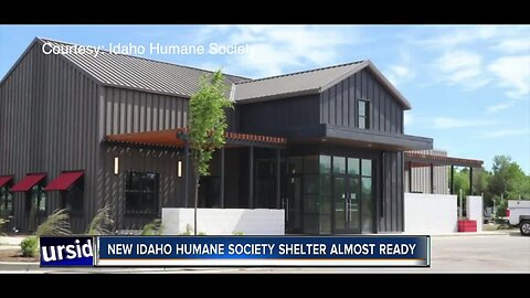 New Idaho Humane Society shelter almost ready