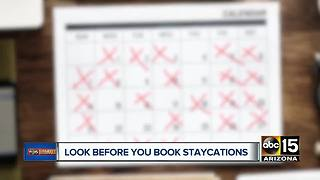 Staycation deals worth buying and how to avoid the bad ones - Video