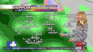 March 7th nightly weather update - Video