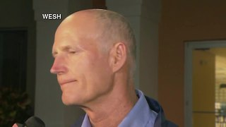 Rick Scott speaks about Hurricane Maria relief efforts following his visit to Puerto Rico - Video