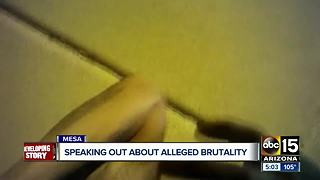 Community speaking out about alleged police brutality in Mesa - Video