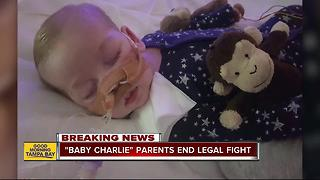 Charlie Gard's parents withdraw legal bid to treat infant