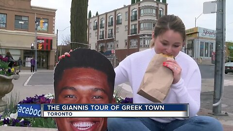 Delaney Brey tries Toronto's best Greek cuisine, as recommended by Giannis