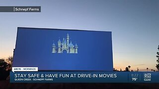 Schnepf Famrs in Queen Creek is hosting drive-in movie night