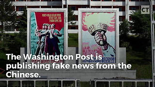 Washington Post Publishes Chinese - Video