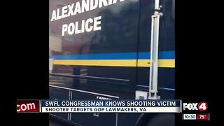 Congressman calls shooting