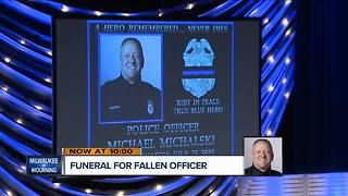 Thousands attend procession services for fallen MPD officer Michalski