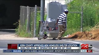 Kern County approves new homeless shelter location