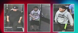 Las Vegas police search for robbery suspects
