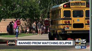 Solar eclipse raising safety concerns in schools - Video