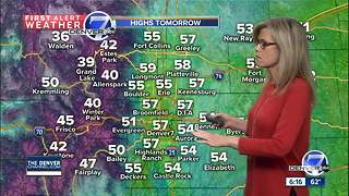 Cooler this weekend, but not too stormy - Video