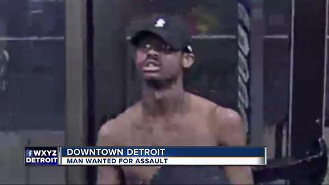 Detroit Police search for suspect involved in Fourth of July assault