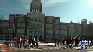Denver teachers strike for better compensation