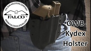 Falco C905 OWB Kydex Holster