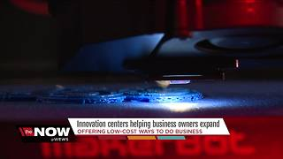 Innovation centers helping business owners expand - Video