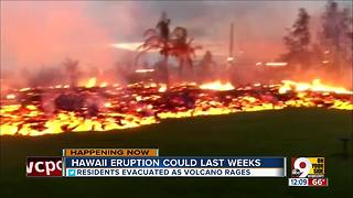Hawaii eruption could last weeks