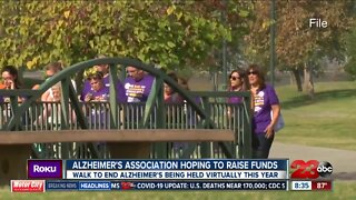 Alzheimer's Association raising money with Virtual Walk