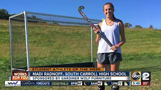 Student Athlete of the Week Madi Radnoff