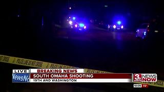 Police investigate South Omaha shooting - Video