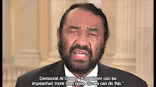 Democrat Al Green wants to keep impeaching Trump forever