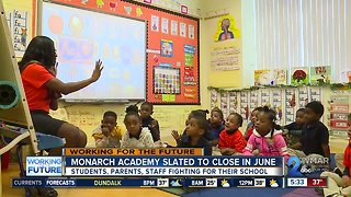 Monarch Academy Baltimore families, staff fight to keep school open