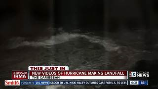 Hurricane Irma makes landfall - Video