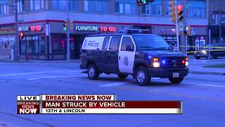 Pedestrian struck, injured by hit-and-run driver on Milwaukee's south side - Video