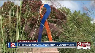 Memorial unveiled for OSU crash victims