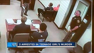 Two teens arrested in murder of Kenosha girl - Video
