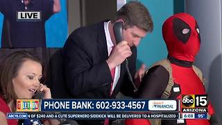 Mayor Greg Stanton stops by Phoenix Children's Hospital Telethon hosted by ABC15 - Video