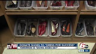 Donate gently used women's professional shoes to Dress for Success - Video
