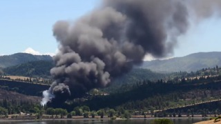Timelapse Video Shows Scene of Oil Train Derailment Near Mosier - Video