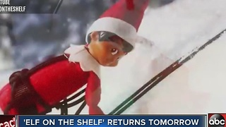 'Elf on the shelf' returns December 1 - Video