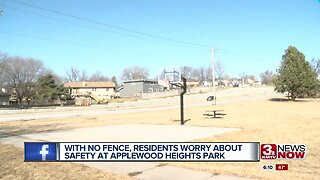 With no fence, residents worry about children's safety at Applewood Heights Park