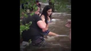 RAW VIDEO: Flash Flood Rescues in Sabino Canyon - Video