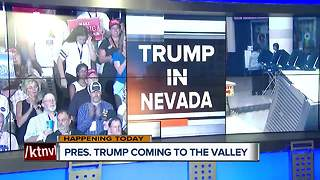 President Trump coming to Las Vegas
