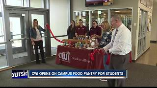 CWI opens on-campus food pantry