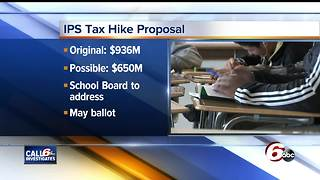 IPS may consider reducing a proposed tax hike