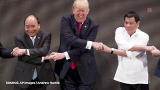 Donald Trump's handshakes | Rare Humor - Video
