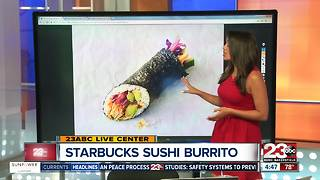 Starbucks Sushi Burrito - Video