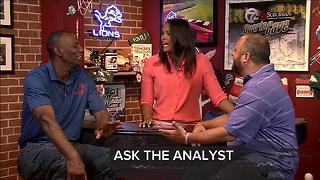 Taking your tweets with Greg Kelser and Dan Leach on the 7 Sports Cave - Video