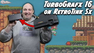 RetroTink 5x Gameplay Spotlight - TurboGrafx 16 & PC Engine