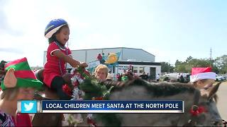 Santa brings his workshop to Bradenton to bring joy to children with special needs - Video