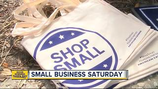 Shop local during Small Business Saturday in Ybor City with nearly 100 area vendors - Video