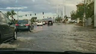 Las Vegas Deluge Leaves Streets Flooded